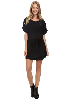 Lucky Brand Short Black Romper