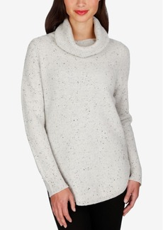 Lucky Brand Side-Zipper Turtleneck Sweater