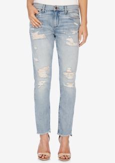 Lucky Brand Sienna Ripped Boyfriend Jeans