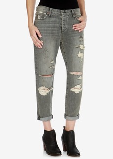 Lucky Brand Sienna Ripped Boyfriend Jeans, Barry Wash