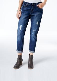 Lucky Brand Sienna Ripped Windward Wash Boyfriend Jeans