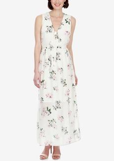 Lucky Brand Silk Floral-Print Maxi Dress