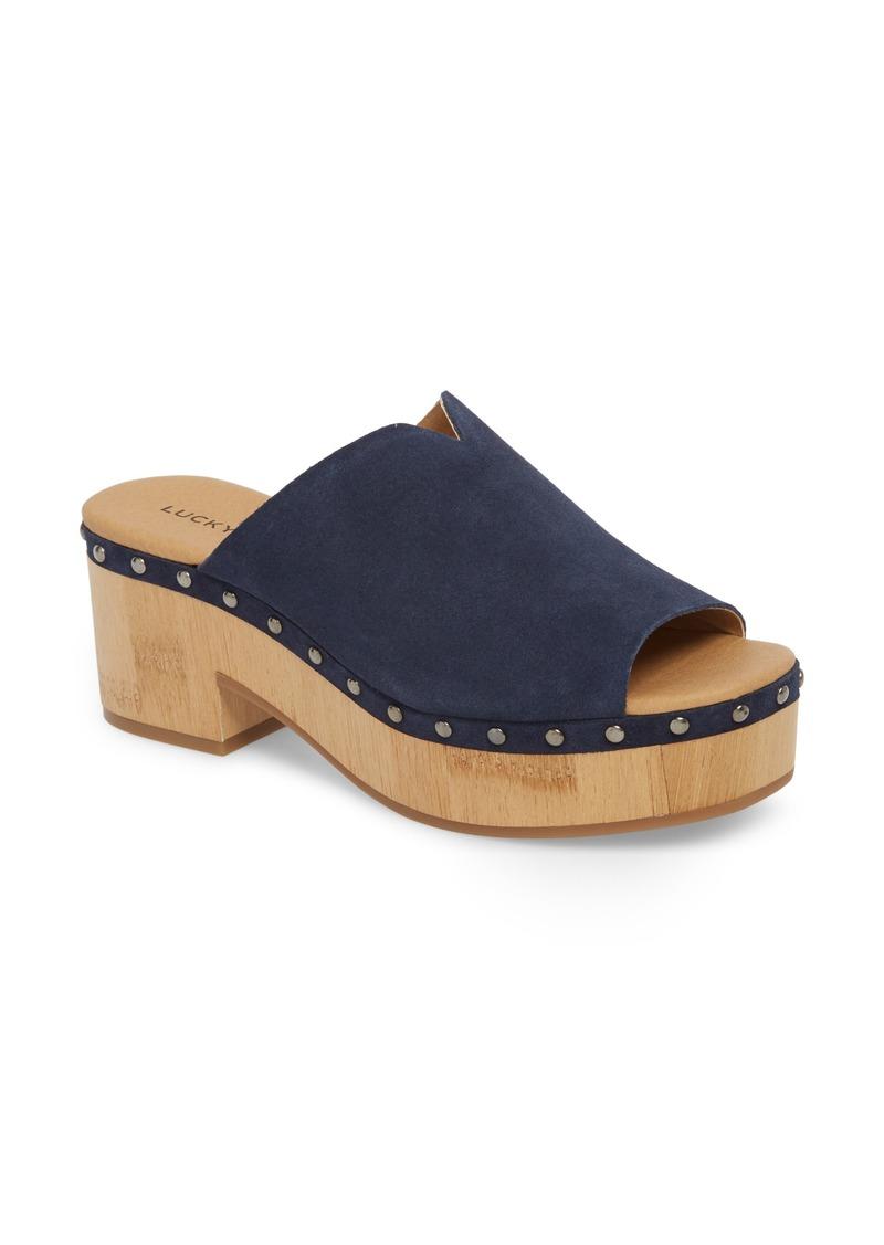 Lucky Brand Simbrenna Platform Slide Sandal (Women)