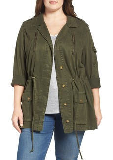 Lucky Brand Soft Military Jacket (Plus Size)