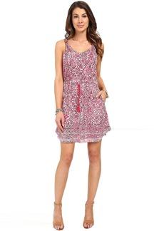 Lucky Brand Stamp Twist Strap Dress