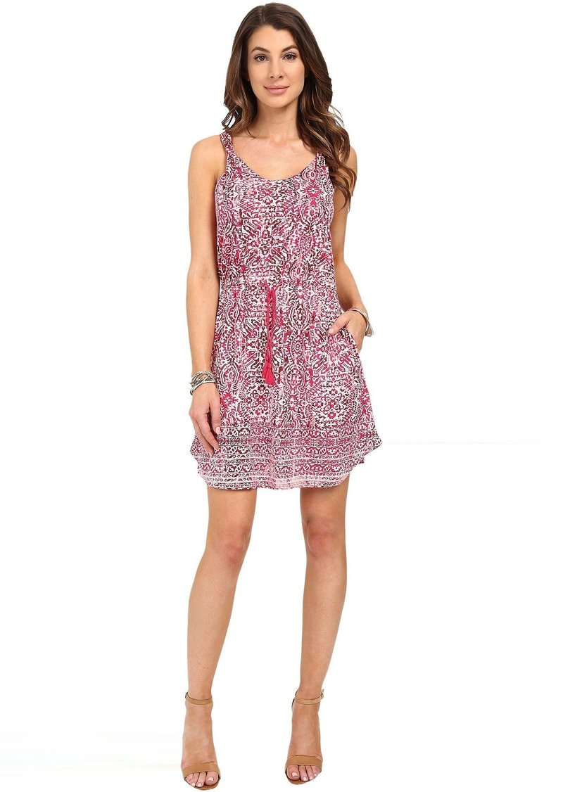 Lucky Brand Stamp Twist Strap Dress