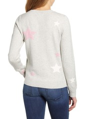 Lucky Brand Star Intarsia Sweater