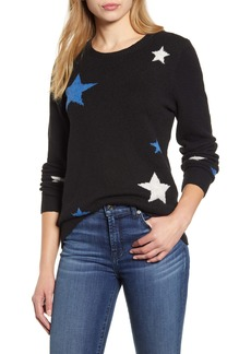 Lucky Brand Star Intarsia Sweater