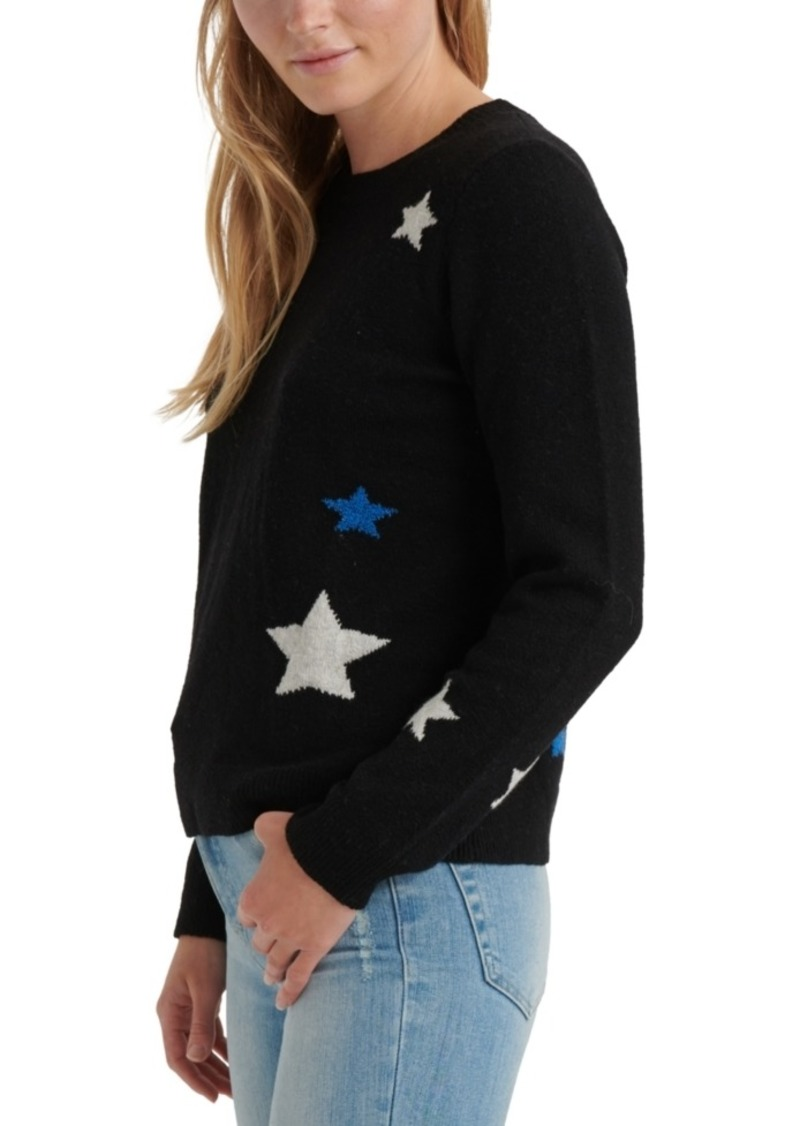 Lucky Brand Star-Print Sweater