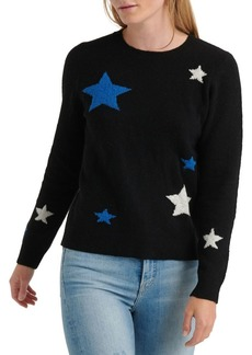 Lucky Brand Star Printed Crewneck Sweater