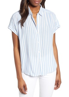 Lucky Brand Stripe Button-Up Shirt