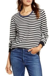 Lucky Brand Stripe Crew Pullover