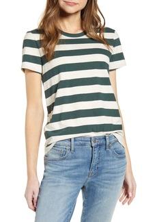 Lucky Brand Stripe Crewneck T-Shirt