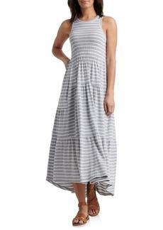 Lucky Brand Striped Maxi Dress