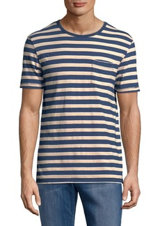 Lucky Brand Striped Short Sleeve Tee