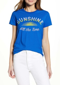 Lucky Brand Sunshine All the Time Cotton Graphic Tee