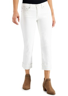 Lucky Brand Sweet Crop Cuffed Jeans