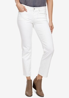 Lucky Brand Sweet Cropped Straight-Leg Jeans