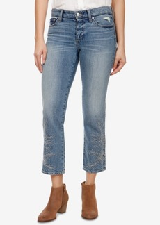 Lucky Brand Sweet Embroidered Straight-Leg Jeans