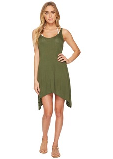 Lucky Brand Take Cover Shark Bite Swing Dress Cover-Up