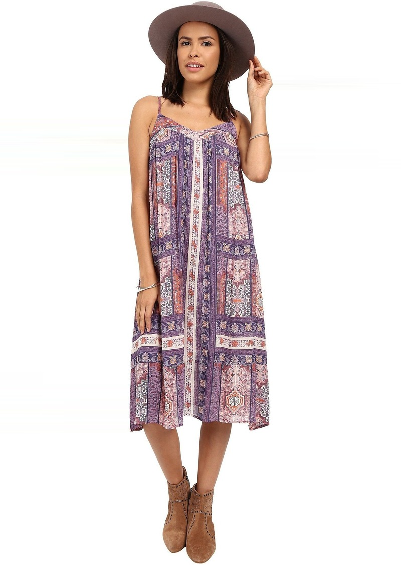 Lucky Brand Tapestry Print Dress