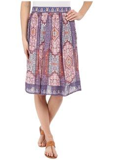 Lucky Brand Tapestry Print Skirt