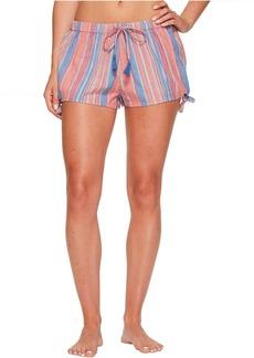 Lucky Brand Tassel Tie Pajama Shorts