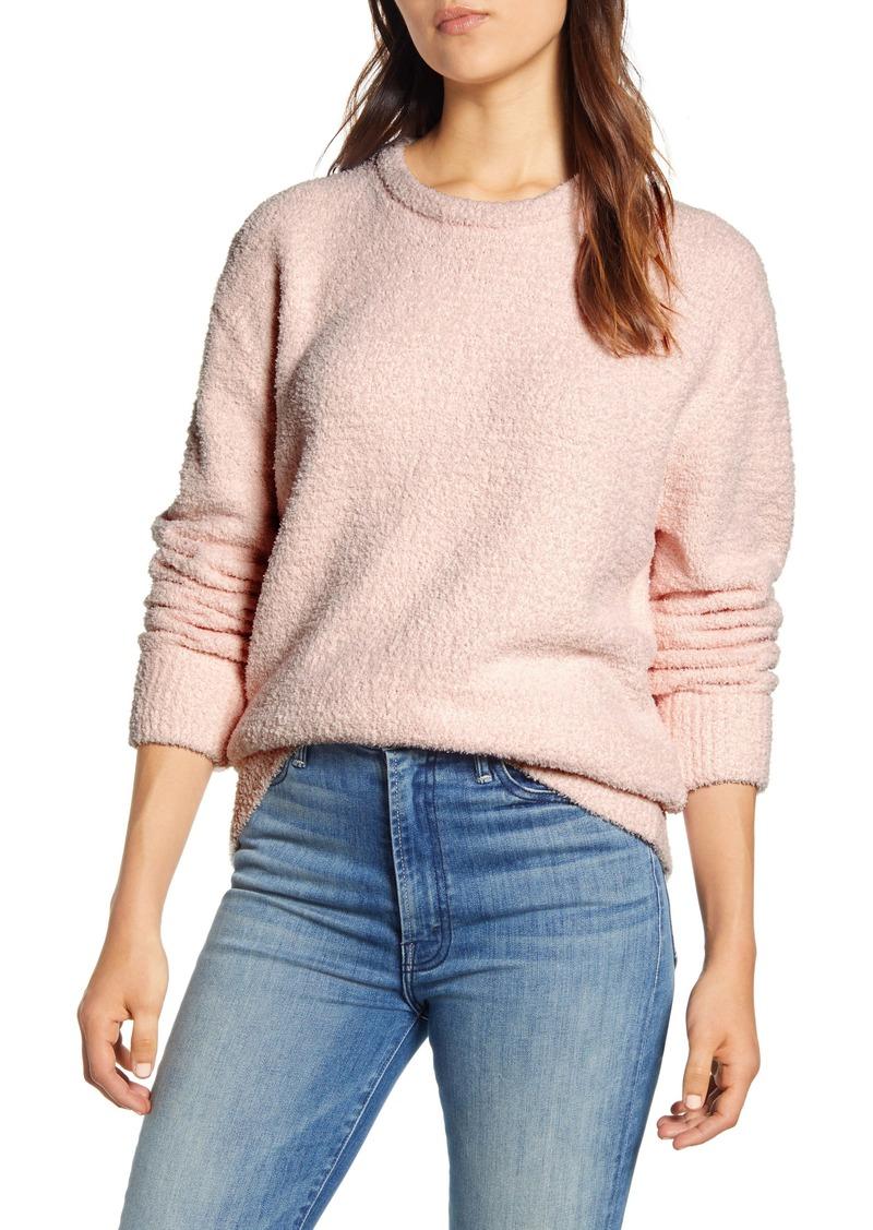 Lucky Brand Teddy Crewneck Sweater