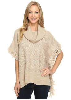 Lucky Brand Texture Poncho