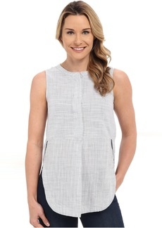 Lucky Brand Textured Sleeveless Top