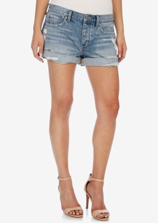 Lucky Brand The Boyfriend Denim Short Shorts