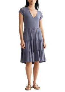 Lucky Brand Tiered Knit Dress