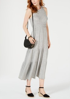 Lucky Brand Tiered Sleeveless Maxi Dress