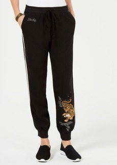Lucky Brand Tiger-Graphic Track Pants