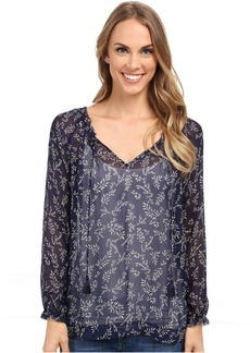 Lucky Brand Tossed Flower Top