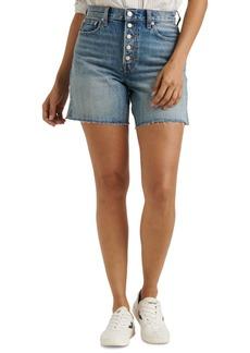 Lucky Brand Traveler Button-Fly Cutoff Shorts