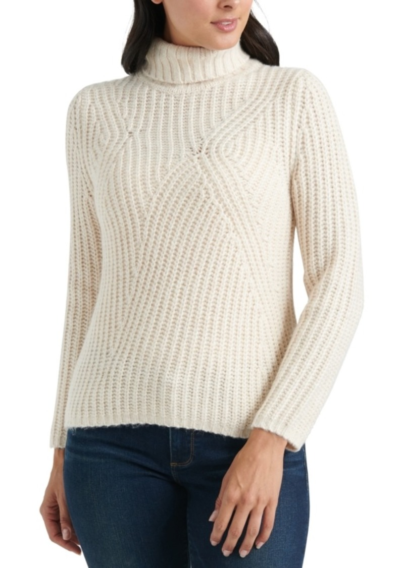 Lucky Brand Traveling Rib Sweater