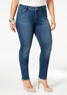 Lucky Brand Trendy Plus Size Emma Straight-Leg Jeans