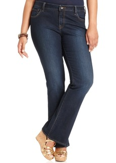Lucky Brand Trendy Plus Size Ginger Randelman Wash Bootcut Jeans