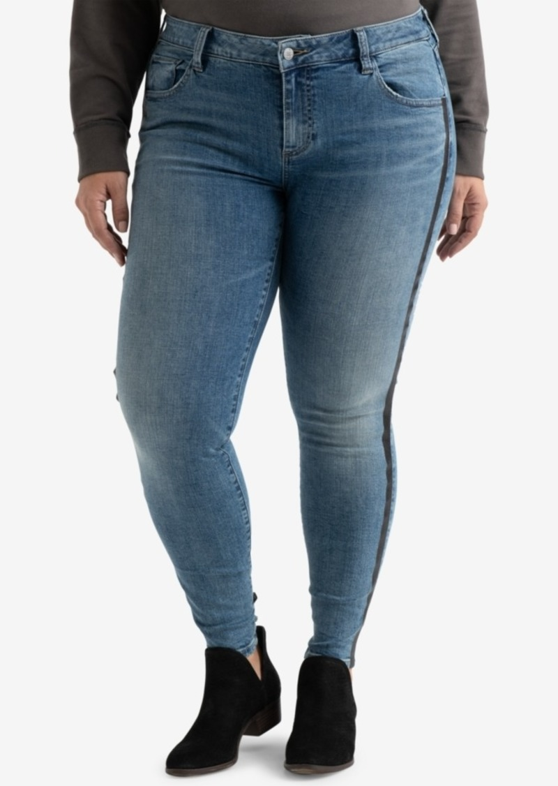 6ba2a9f6aeec Lucky Brand Lucky Brand Plus Size Ginger Striped Skinny Jeans | Denim