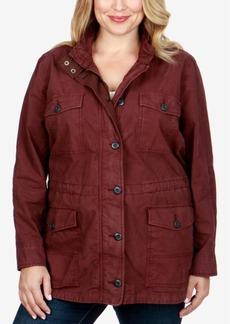 Lucky Brand Trendy Plus Size Utility Jacket