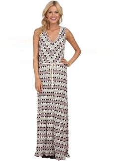 Lucky Brand Tribal Maxi Dress