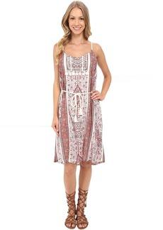 Lucky Brand Tribal Printed Dress