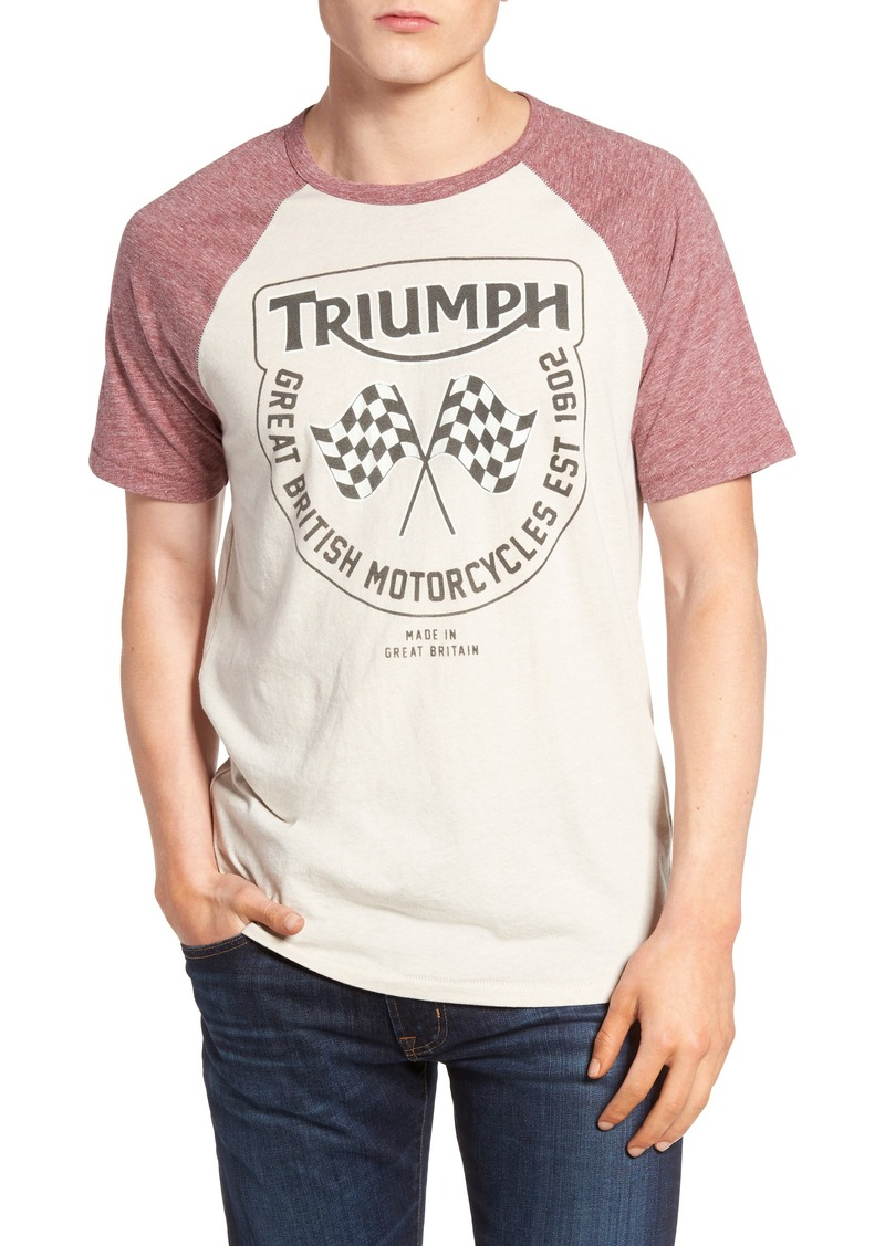 3872971c4 Lucky Brand Lucky Brand Triumph Flags Graphic T-Shirt | T Shirts