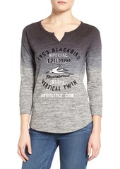 Lucky Brand Triumph Graphic Space Dye Tee