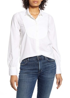Lucky Brand Tuxedo Bib Shirt