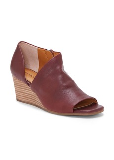 Lucky Brand Tylera Open Toe Wedge Bootie (Women)