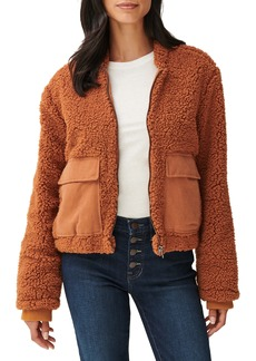Lucky Brand Utility Teddy Coat