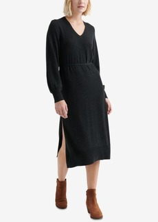 Lucky Brand V-Neck Sweater Dress