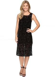 Lucky Brand Velvet Midi Dress